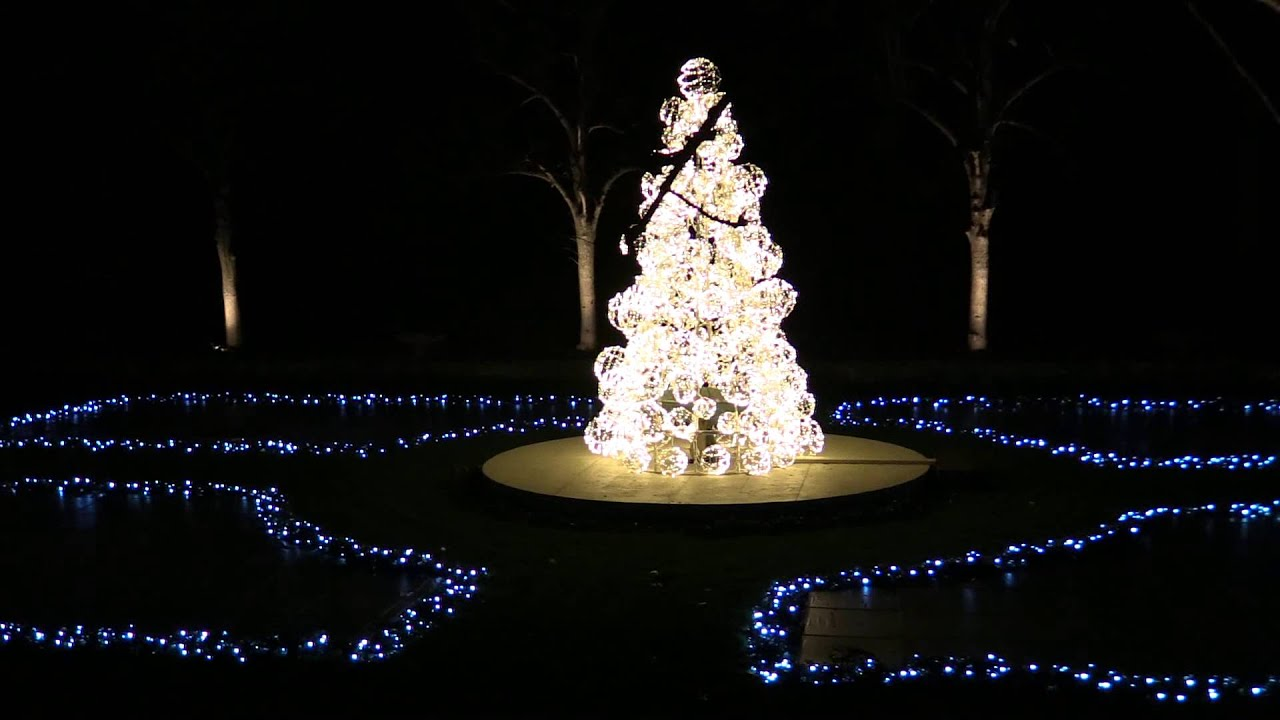 longwood gardens christmas spectacular show sample - Longwood Gardens Christmas Lights