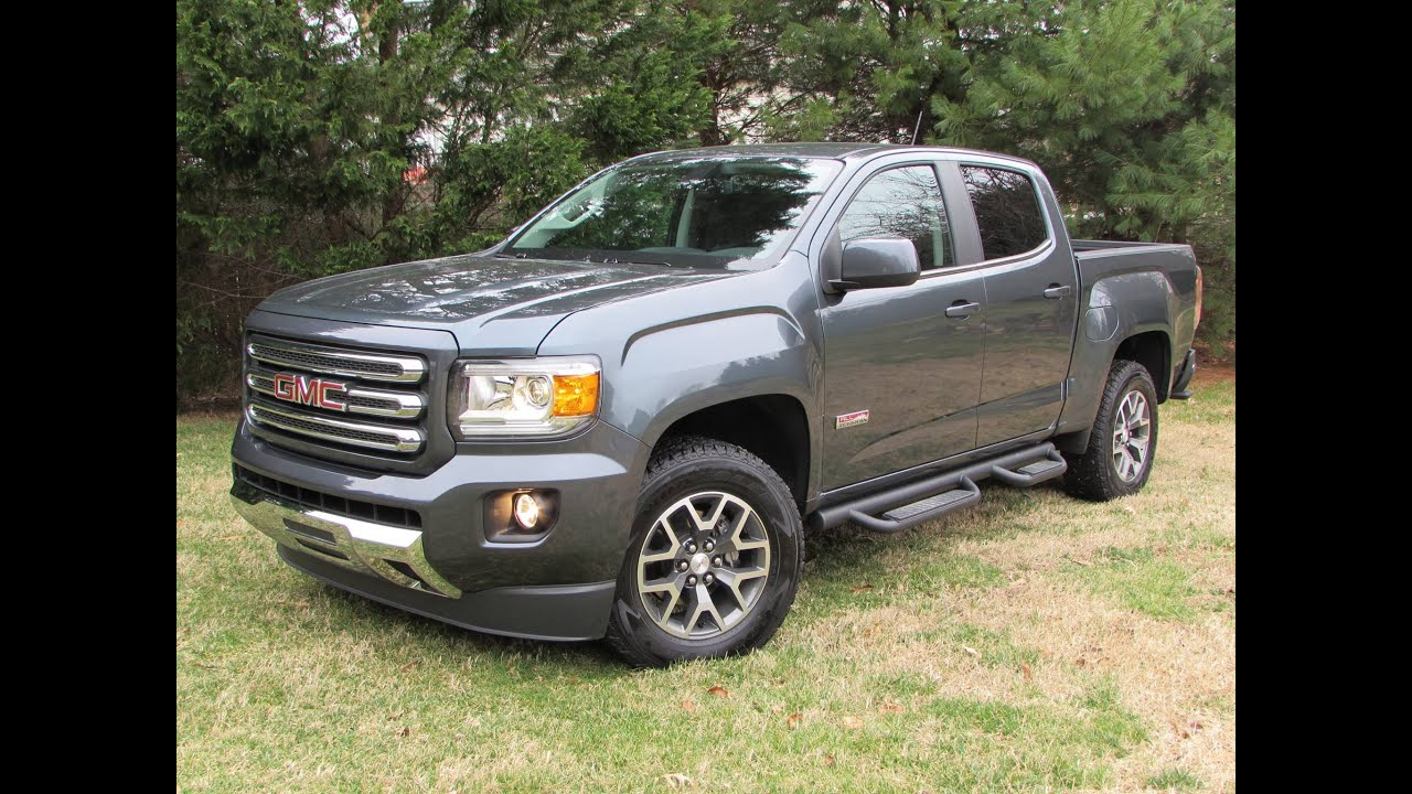 car gmc original depth canyon model photo infotainment and review in s reviews driver intellilink