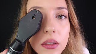 ASMR | Realistic Eye Health Test