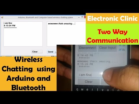 Arduino Project: Arduino Bluetooth Hc-05 | Hc-06 Wireless Chatting + Android Phone + Vb.net