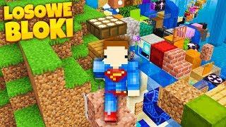 Co KROCZEK Pojawia sie LOSOWY BLOK w Minecraft!
