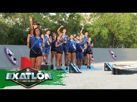 Ceci Álvarez es la decima eliminada de Exatlón Titanes vs. Héroes.   Episodio 49   Exatlón México