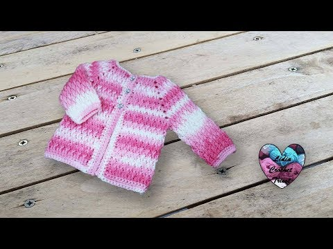 Brassière veste crochet unisexe