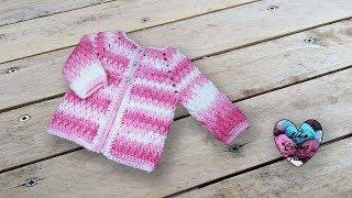Brassiere veste crochet unisexe Lidia Crochet Tricot