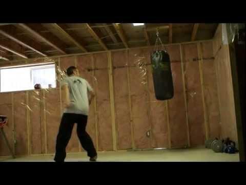 Hanging Heavy Bag - YouTube