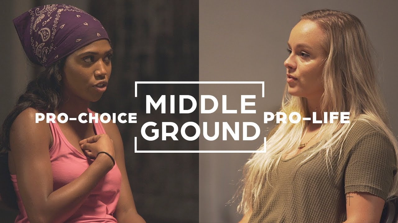 Pro-Choice And Pro-Life Supporters Search For Common Ground