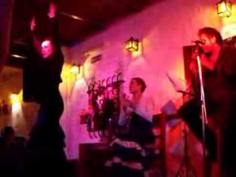 noche de flamenco en el tablao Cantares