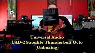 Universal Audio UAD2 Satellite Octo (Unboxing)