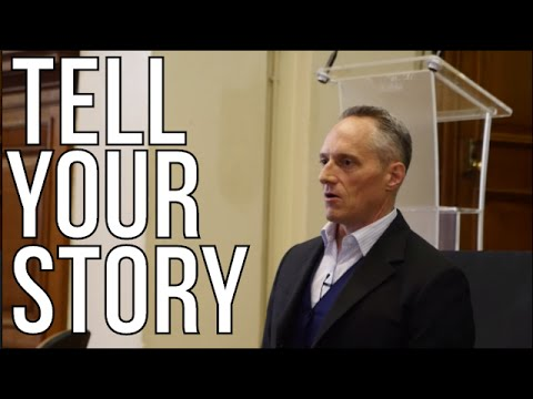 HOW TO TELL YOUR STORY - Brian Rose   Startup Grind Europe 2016