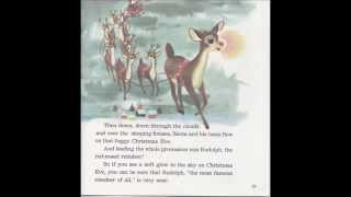 RUDOLPH THE RED-NOSED REINDEER (STORY RECORD BOOK)