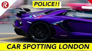 Supercar spotting and police in London July 18th | RAWKUS tv Live Stream