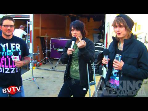 """Asking Alexandria Interview - BVTV """"Band of the Week"""" HD"""