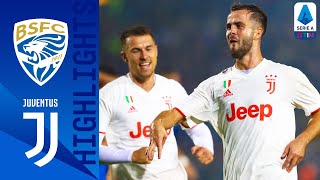 Brescia 1-2 Juventus | Pjanić hits winner as Serie A champions win to go top! | Serie A