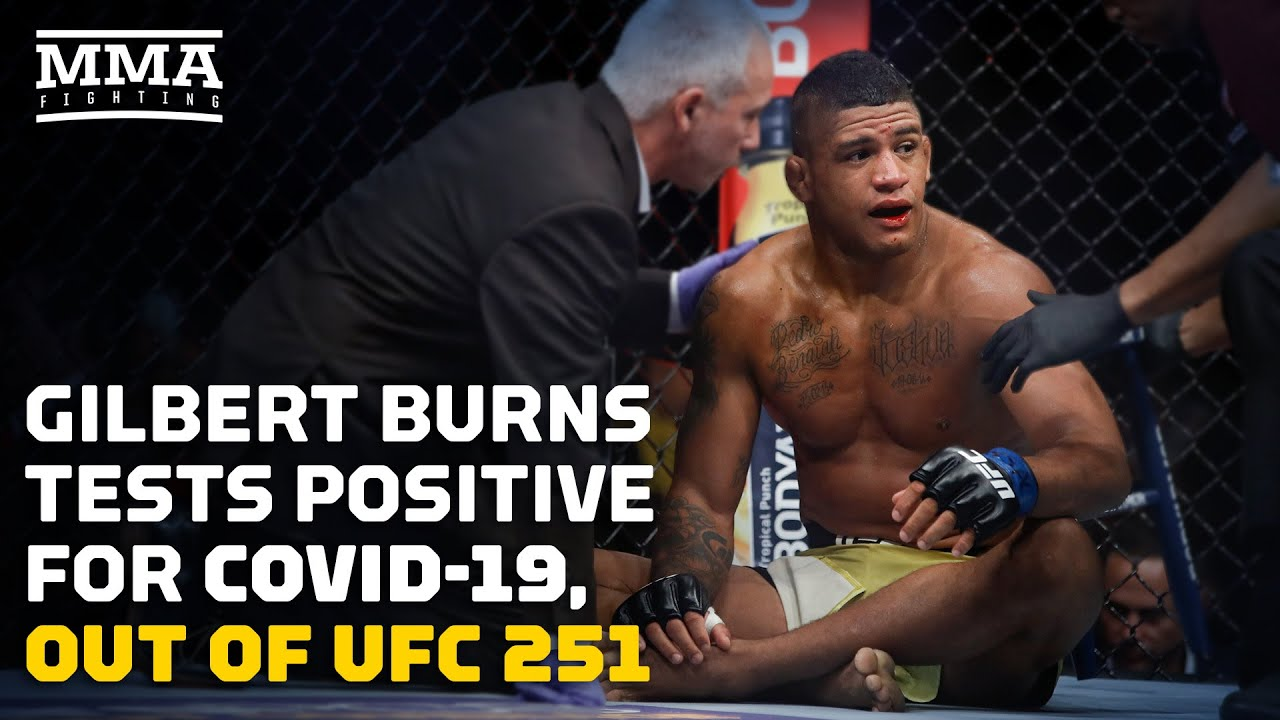 UFC 251: Gilbert Burns out of Fight Island main event after testing ...