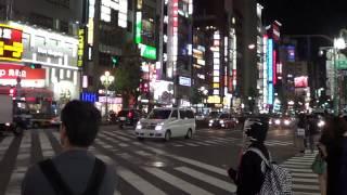 土曜の夜の新宿(Saturday Night in Tokyo/Shinjuku)