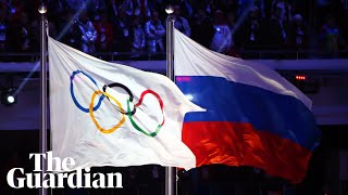 'Their flag will not fly': Russia given four-year ban for doping offences
