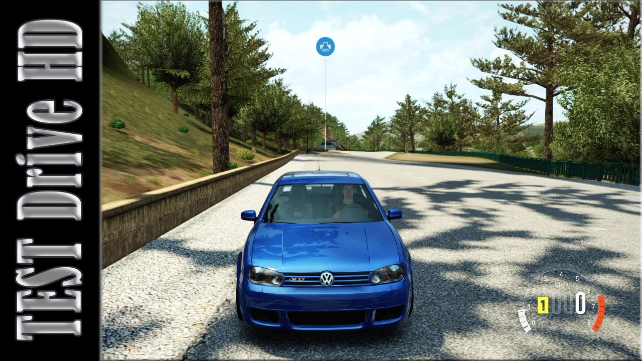 Volkswagen Golf R32 - 2003 - Forza Horizon 2 - Test Drive Gameplay [HD] - YouTube