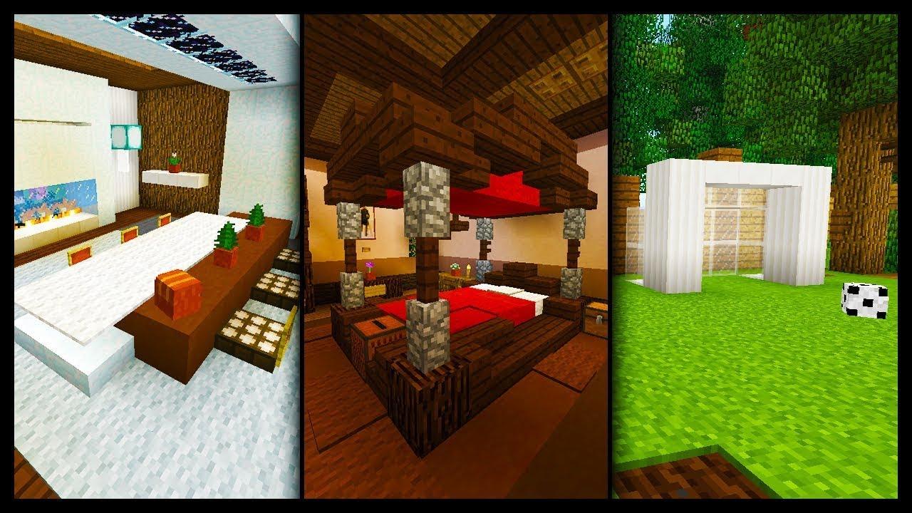 40 fa on de d corer sa maison facilement sur minecraft console youtube - Decorer sa maison minecraft ...