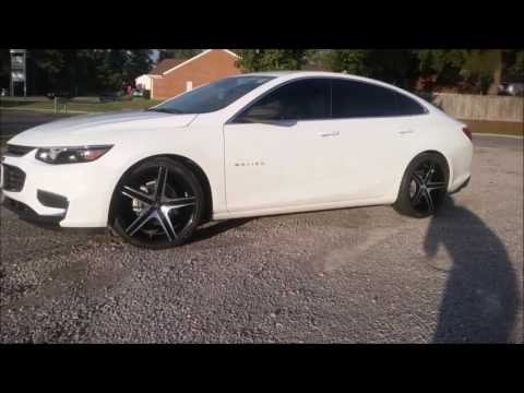2016 Chevy Malibu Sitting On 20 Cavallo Clv 3 Wheels And 245 35 Lexani Tires You