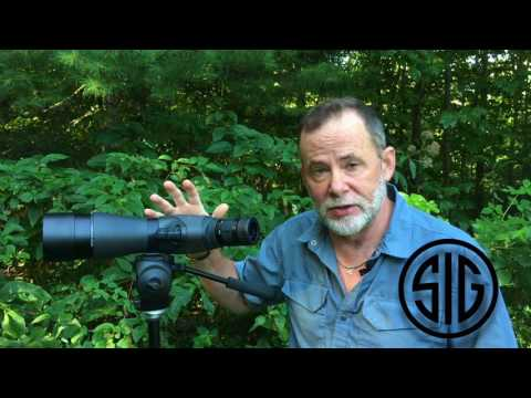 Sig Sauer's Oscar 7 Spotting Scope
