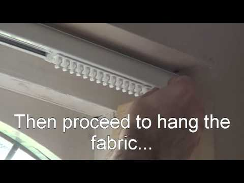 How To Fit Vertical Blinds