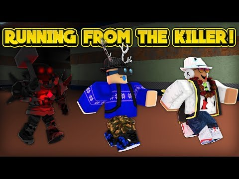 RUNNING FROM THE KILLER! (ROBLOX Flee The Facility)