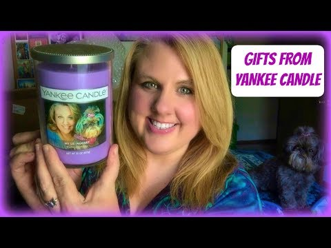 GIFTS FROM YANKEE CANDLE FEATURING NEW PERSONALIZED CANDLES!