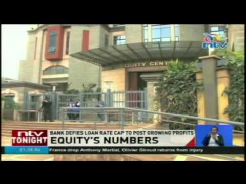 Equity's numbers: Bank defies loan rate cap to post growing profits