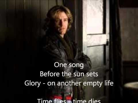 One song glory - Rent (Lyrics)