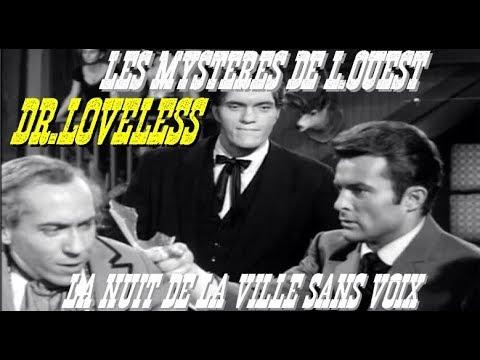 Les Mystères De L'ouest Saison 1 Episode 10  La Nuit de la ville sans voix VOSTFR Noir Et Blanc