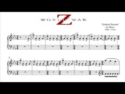 partition musique world war z