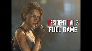 RESIDENT EVIL 3 REMAKE Walkthrough - FULL GAME (No Commentary)
