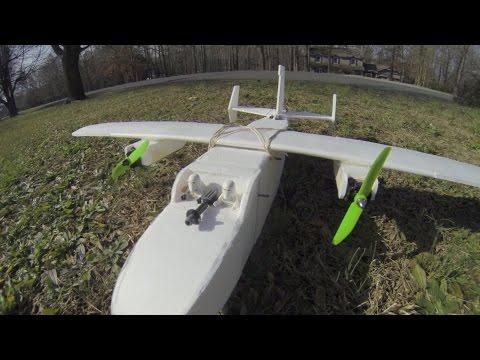 FT Mini Guinea review mini cargo plane