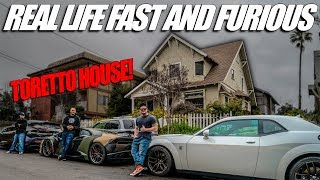 We Went To The Toretto House!!! (Real Life Fast And Furious)
