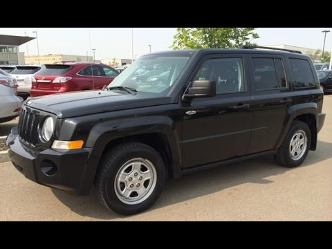 Pre Owned Black 2009 Jeep Patriot 4WD 4dr North Edition Review Stony Plain, Spruce Grove, AB ...
