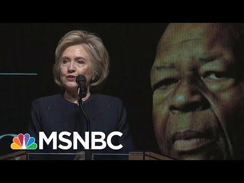 Hillary Clinton: 'Elijah Stood Against Corrupt Leadership' | Hallie Jackson | MSNBC