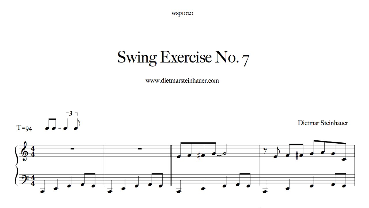 Swing exercise no 7 youtube for Dietmar steinhauer