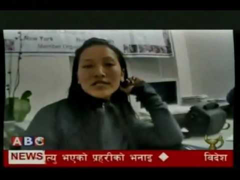 Live Video about Corruption at airport:  News reporting by Kishor Panthi