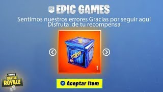 How TO GET THE NEW FREE ALEATORY GIFT FROM FORTNITE! (THANK YOU EPIC GAMES)
