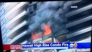 Hawaii high rise Condo Fire