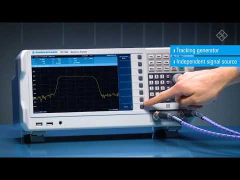 FPC1500 Rohde & Schwarz Spectrum-Analyzer and Tracking Generator