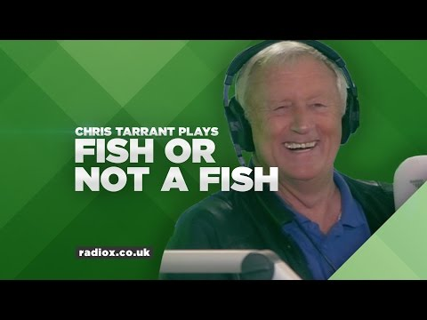 "Chris Tarrant Plays ""Fish Or Not A Fish"""