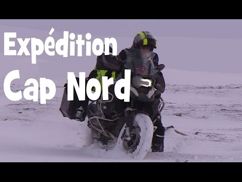 EXPEDITION HIVERNALE AU CAP NORD EN BMW R 1200 GS ADVENTURE ► english subs ►by lolo cochet