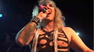 """It Won't Suck Itself"" in HD - Steel Panther 11/30/11 Philadelphia, PA"