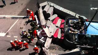 Perez crash F1 Monaco GP 2011