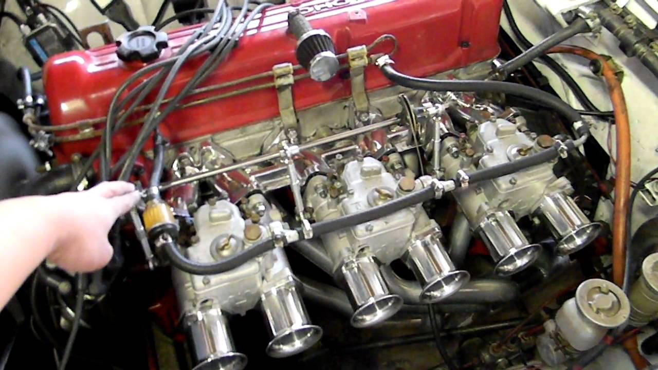L28 Engine 40 Dcoe