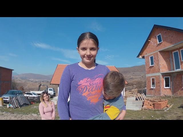 Izgradnja kuće porodici Bojović iz Tutina - Srbi za Srbe
