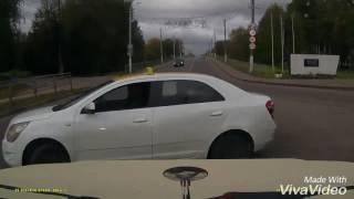 Тверь. ДТП перед въездом на Горбатый мост
