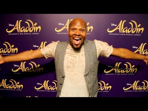Behind the Scenes: ALADDIN Star Michael James Scott in Australia