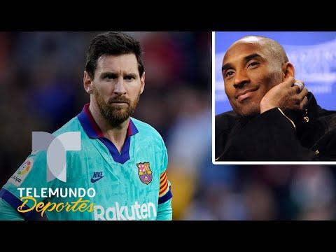 Así despidió Lionel Messi a la leyenda de Kobe Bryant | Telemundo Deportes